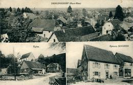 DURLINSDORF  Trois Vues Ed A. KANITZER - France