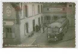 77.NANTEAU.HOTEL DE LA VALLEE DU LUNAIN.AUTOBUS.CPSM - France