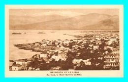 A753 / 033  LIBAN Beyrouth Au Fond Mont Sannine - Líbano
