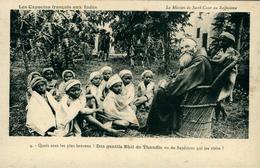 MISSION Des Pères Capucins Au RAJPUTANA Missionnaire Et Enfants - Autres