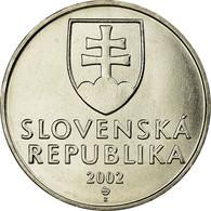 Monnaie, Slovaquie, 2 Koruna, 2002, SUP, Nickel Plated Steel, KM:13 - Eslovaquia