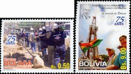 BOLIVIE YPB-Cie Pétrolifère 2v 2011 Neuf ** MNH - Bolivie