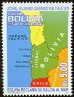 BOLIVIE Délimitation Des Frontières 1v Neuf ** MNH - Bolivie