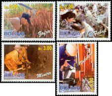 BOLIVIE Professions 4v 2012 Neuf ** MNH - Bolivie