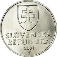 Monnaie, Slovaquie, 20 Halierov, 2001, SUP, Aluminium, KM:18 - Eslovaquia