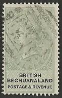 Bechuanaland 1887. 10sh Green And Black. SG 19, SACC 19. - Bechuanaland (...-1966)