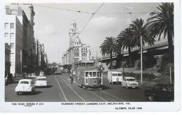 CPM - VOITURES  Et Tramway  - MELBOURNE - TBE - - PKW