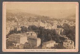 BADEN BADEN VOM FÜRST SOLM'S SCHLOSS GESEHEN  - 1891 ? - FRIEDRICH SPIES PHOTO - Foto
