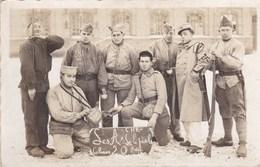 MILITAIRE ,militaria Photo De Groupe,,, CARTE PHOTO A SITUER OU DEJA SITUEE,detaille à La Piéce  (lot 45) - Personnages