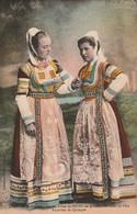 Finistère : BRIEC : Jeunes Filles De Briec En Grand Costumes De Fète  - Environs De Quimper ( Folklore - Costumes ) - Francia