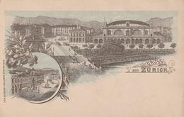 Zurich ( Litho Heinrich Schlumpf, Winterthur ) - ZH Zurich