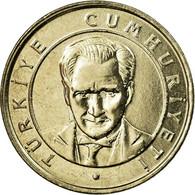Monnaie, Turquie, 25 New Kurus, 2005, Istanbul, SPL, Copper-Nickel-Zinc, KM:1167 - Turquie