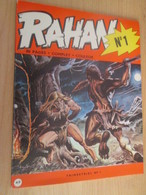 PF519 BD Originale ALBUM N°1 RAHAN De 1972 , Très Bon état , Coté 40 Euros (minimum !) Au BDM - Rahan
