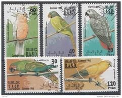Animaux Sahara Occ. 1994 Oblitérés / Used / Gestempeld - Vogels