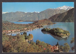65294/ LAGO DI COMO, Centro Lago Con La Sfondo Di Bellagio - Italia