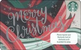 Thailand Starbucks Card Merry Christmas 2018 - 6156 - Gift Cards