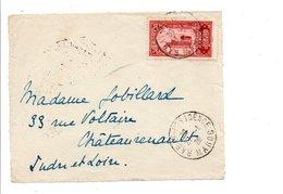 MAROC DEVANT DE LETTRE DE RABAT RESIDENCE 1926 - Briefe U. Dokumente