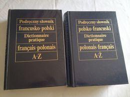 Dictionnaire Pratique Français - Polonais Et Polonais - Français Avec Supplément En 2 Tomes Reliés - Dictionnaires