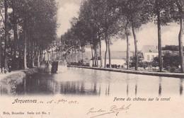 619 Arquennes Ferme Du Chateau Sur Le Canal - Belgium