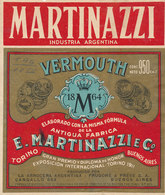 AN 535 / ETIQUETTE   VERMOUTH   E MARTINAZZI  ARGENTINE - Etiquettes