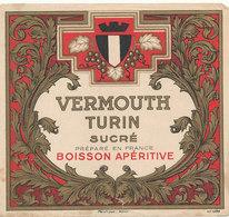 AN 536 / ETIQUETTE   VERMOUTH  TURIN - Etiquettes