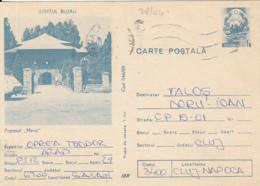 80771- MERA INN, TOURISM, POSTCARD STATIONERY, 1989, ROMANIA - Holidays & Tourism