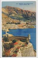 AI73 Monaco, Vue Sur Monte Carlo Prise Du Rocher - Monaco