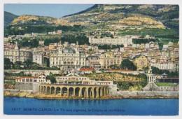 AI73 Monte Carlo, Le Tir Aux Pigeons, Le Casino Et Les Hotels - Monaco