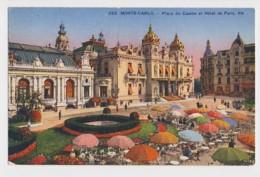 AI73 Monte Carlo, Place Du Casino Et Hotel De Paris - Monaco