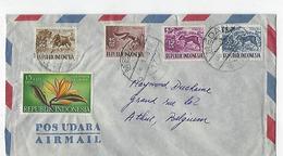 Indonésie: 1 Lettre Pour La Belgique - Indonésie