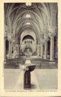 CPSM - LA LOUVESC - INTERIEUR DE LA BASILIQUE (1941) - La Louvesc