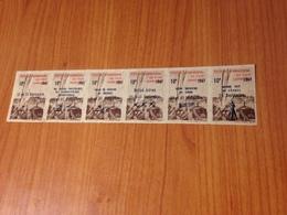 CANNES FESTIVAL INTERNATIONAL DU FILM 1947 -  Bloc De 6 Vignettes  (port à Ma Charge ) - Erinnofilia
