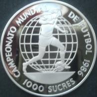 Equateur, 1.000 Sucres 1989 - Silver Proof - Ecuador