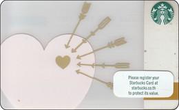 Thailand Starbucks Card Valentine -2018 - 6162 - Gift Cards