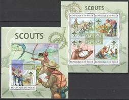 ST2800 2013 NIGER ORGANIZATIONS SCOUTISME SCOUTS KB+BL MNH - Scoutisme