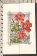 96775/ MARIAGE, Vermählung, Roses Et Myosotis, Thème Télégramme - Auguri - Feste
