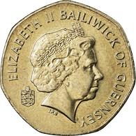 Monnaie, Guernsey, Elizabeth II, 20 Pence, 2003, SUP, Copper-nickel, KM:90 - Guernesey