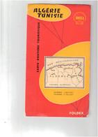 Algérie Tunisie Carte Routière FOLDEX - Geographical Maps