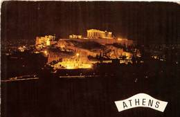 ATENE - NOTTURNA  (GRECIA) - Grecia