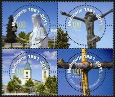 BOSNIE CROATE Medjugorje (images Inversées) 11 Neuf ** MNH - Bosnie-Herzegovine
