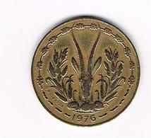 //  WEST AFRICAN STATES  10 FRANCS  1976 - Centrafricaine (République)