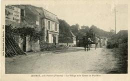 Buxerolles Lessart 86180 Le Village Et Côte Du Puy-Mire 402CP02 - Buxerolles
