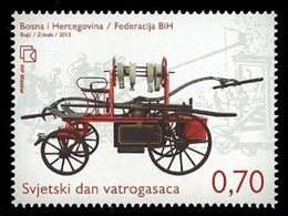 BOSNIE CROATE Voiture De Pompiers 1v 13 Neuf ** MNH - Bosnië En Herzegovina