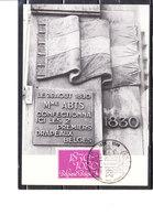 1961 150éme Anniversaire De L' Indépendance De La Belgique - Maximum Cards