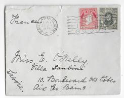 EIRE - 1929 - ENVELOPPE De BAILE ATHA CLIATH => AIX LES BAINS - 1922-37 Stato Libero D'Irlanda
