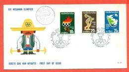 SPORT- OLIMPIADI- XIX WEGANAN OLIMPICO - 1968 - Curaçao, Antille Olandesi, Aruba