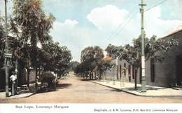 "M08385 ""  IRUA LAPA-LOURENCO MAQUES "" ANIMATA - CARTOLINA  ORIG. SPED.1909 - Mozambique"