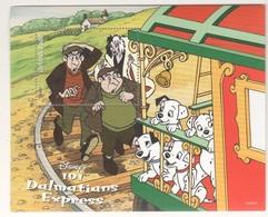 Disney Guyana $3 101 Dalmatians Series Trains SHEET MNH - Disney