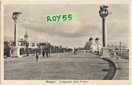 Libia Colonia Italiana Colonie Italiane Bengasi Lungomare Della Vittoria Animata Veduta Anni 30 (f.picc./v.retro) - Libia
