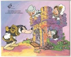 Disney Saint Vincent Three Little Pigs Series $6 SHEET MNH Tre Porcellini - Disney